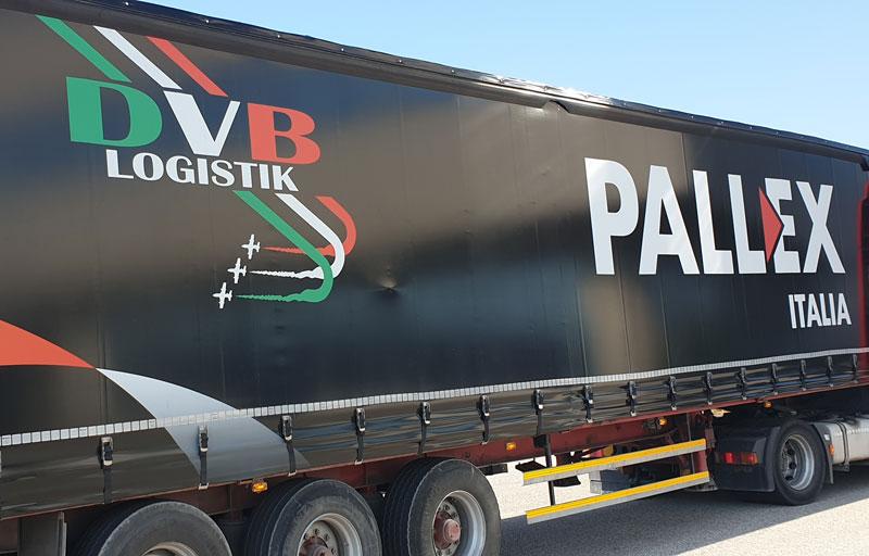 DVB logistik furgone Pallex